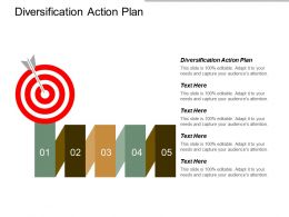 Diversification Action Plan Ppt Powerpoint Presentation Gallery Summary Cpb