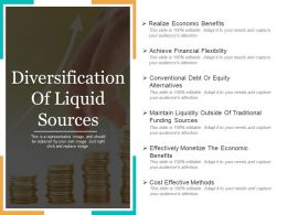 Diversification Of Liquid Sources Powerpoint Templates