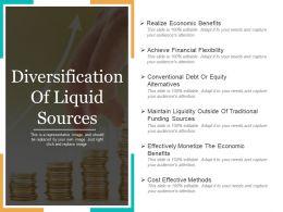 Diversification Of Liquid Sources Powerpoint Templates