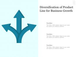 Diversification Of Product Line For Business Growth