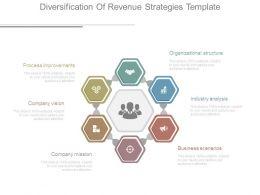 Diversification Of Revenue Strategies Template