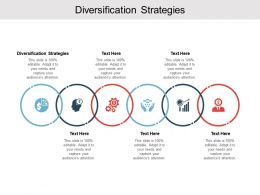 Diversification Strategies Ppt Powerpoint Presentation Pictures Graphics Template Cpb