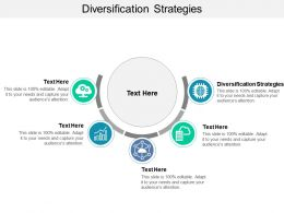 Diversification Strategies Ppt Powerpoint Presentation Slides Graphic Tips Cpb
