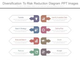 Diversification To Risk Reduction Diagram Ppt Images