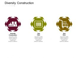 Diversity Construction Ppt Powerpoint Presentation Outline Portrait Cpb