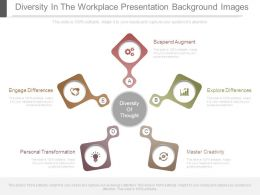 Diversity In The Workplace Presentation Background Images