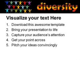 Diversity People PowerPoint Template 0510  Presentation Themes and Graphics Slide03