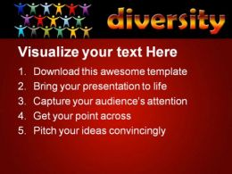 Diversity People PowerPoint Template 0510  Presentation Themes and Graphics Slide02