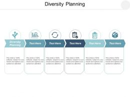 Diversity Planning Ppt Powerpoint Presentation Model Backgrounds Cpb