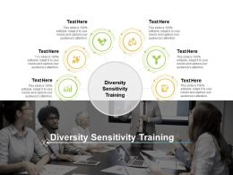 Diversity Sensitivity Training Ppt Powerpoint Presentation Icon Slides Cpb