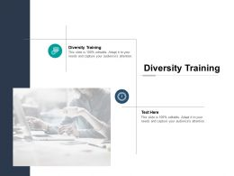 Diversity Training Ppt Powerpoint Presentation Infographics Format Ideas Cpb