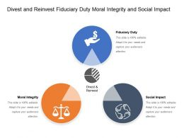 Divest And Reinvest Fiduciary Duty Moral Integrity And Social Impact