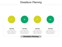 Divestiture Planning Ppt Powerpoint Presentation Show Mockup Cpb