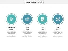 Divestment Policy Ppt Powerpoint Presentation Professional Cpb