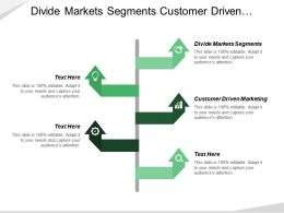 Divide Markets Segments Customer Driven Marketing Marketing Tactics Layer