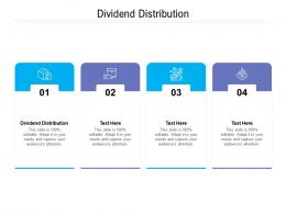 Dividend Distribution Ppt Powerpoint Presentation Layouts Graphics Design Cpb