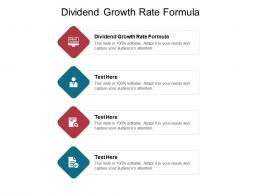 dividend growth rate formula ppt powerpoint presentation portfolio graphics download cpb