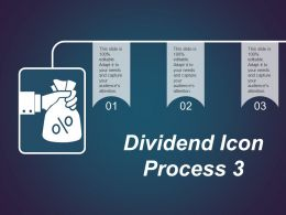 Dividend Icon Process 3