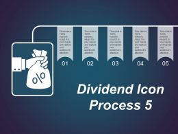 Dividend Icon Process 5