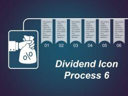 Dividend Icon Process 6