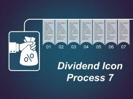 Dividend Icon Process 7