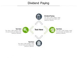 Dividend Paying Ppt Powerpoint Presentation Images Cpb