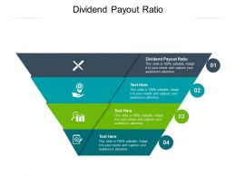 Dividend Payout Ratio Ppt Powerpoint Presentation File Graphics Cpb