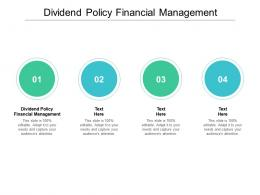 dividend policy financial management ppt powerpoint presentation pictures graphics download cpb