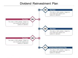 Dividend Reinvestment Plan Ppt Powerpoint Presentation File Layout Ideas Cpb