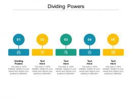Dividing Powers Ppt Powerpoint Presentation Layouts Portfolio Cpb