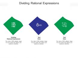 Dividing Rational Expressions Ppt PowerPoint Presentation Professional Vector Cpb