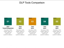 DLP Tools Comparison Ppt Powerpoint Presentation Infographics Graphics Tutorials Cpb