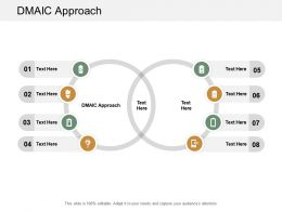 DMAIC Approach Ppt Powerpoint Presentation Gallery Graphics Download Cpb