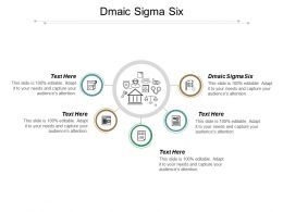 Dmaic Sigma Six Ppt Powerpoint Presentation Pictures Images Cpb