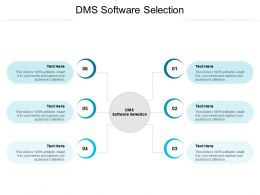 DMS Software Selection Ppt Powerpoint Presentation Infographics Portrait Cpb