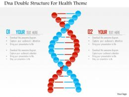 dna_double_structure_for_health_theme_flat_powerpoint_design_Slide01