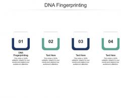 DNA Fingerprinting Ppt Powerpoint Presentation Infographic Template Design Templates Cpb