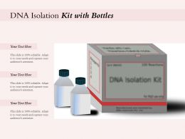 DNA Isolation Kit With Bottles
