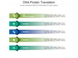 DNA Protein Translation Ppt Powerpoint Presentation Infographics Diagrams Cpb