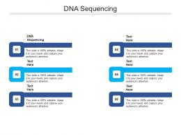 DNA Sequencing Ppt Powerpoint Presentation Model Visuals Cpb