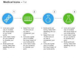 dna_structure_lab_flask_chemical_reaction_ppt_icons_graphics_Slide01