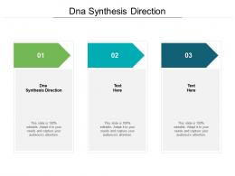 DNA Synthesis Direction Ppt Powerpoint Presentation Pictures Slide Portrait Cpb