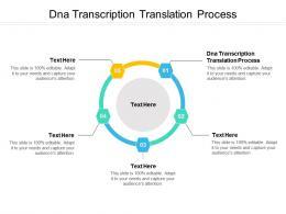 Dna Transcription Translation Process Ppt Powerpoint Presentation Portfolio Graphics Example Cpb