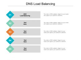 DNS Load Balancing Ppt Powerpoint Presentation Show Cpb