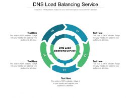 DNS Load Balancing Service Ppt Powerpoint Presentation Portfolio Demonstration Cpb