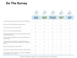 Do The Survey Management Ppt Powerpoint Presentation Pictures Graphics Tutorials