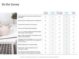 Do The Survey Ppt Powerpoint Presentation Layouts Layout