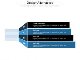 Docker Alternatives Ppt Powerpoint Presentation Show Shapes Cpb