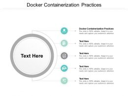 Docker Containerization Practices Ppt Powerpoint Presentation Inspiration Outfit Cpb