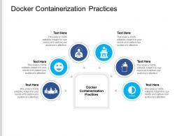 Docker Containerization Practices Ppt Powerpoint Presentation Outline Mockup Cpb